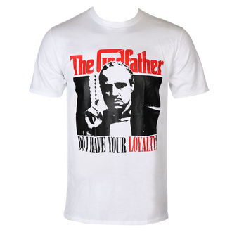film t-shirt men's The Godfather - Do I have Your Loyalty - HYBRIS - PM-1-TGF017-H39-3-WH