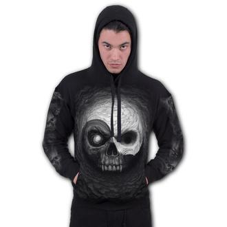 hoodie men's - YIN YANG SKULLS - SPIRAL - M029M451