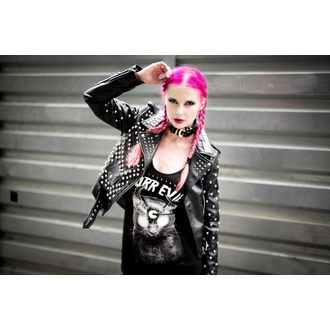 leather jacket women's - Vicious - KILLSTAR, KILLSTAR