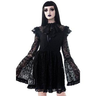Women's set (dress + tank top)  KILLSTAR - Liliana - BLACK - KSRA000501