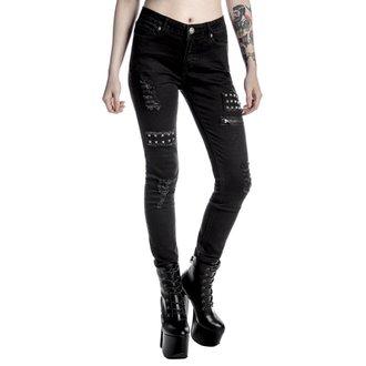 pants women KILLSTAR - Lithium - Black, KILLSTAR
