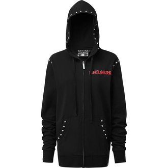 hoodie men's - LIT ZIP UP - KILLSTAR