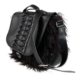 Handbag (Purse) KILLSTAR - LOKE FUR - BLACK, KILLSTAR