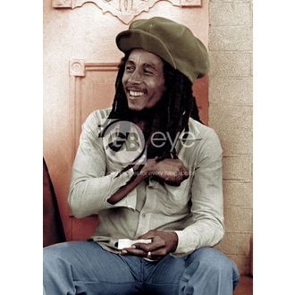 poster - BOB MARLEY rolling 2 - LP0800 - GB posters