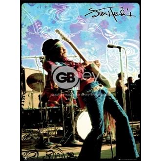 poster - JIMI HENDRIX live - LP1270, GB posters, Jimi Hendrix