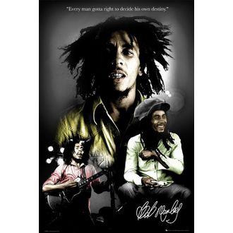 poster - BOB MARLEY destiny - LP1328, GB posters, Bob Marley