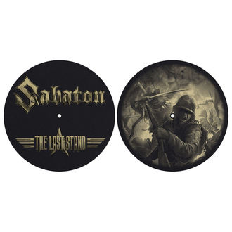 Gramophone Pad (set of 2pcs) SABATON - THE LAST STAND - RAZAMATAZ, RAZAMATAZ, Sabaton