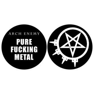 Gramophone Pad (set of 2pcs) ARCH ENEMY - PURE FUCKING METAL - RAZAMATAZ, RAZAMATAZ, Arch Enemy