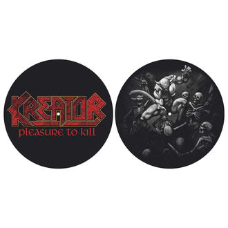 Gramophone Pad (set of 2pcs) KREATOR - PLEASURE TO KILL - RAZAMATAZ, RAZAMATAZ, Kreator