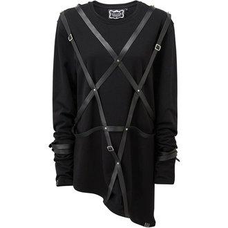 UNISEX T-shirt with long sleeves KILLSTAR - LUCAS - BLACK, KILLSTAR