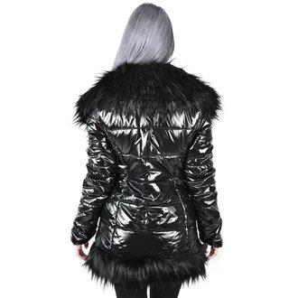 Women's coat KILLSTAR - Lucine Puff - BLACK, KILLSTAR