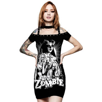 Women's dress KILLSTAR - Rob Zombie - Lust For Death - BLACK, KILLSTAR, Rob Zombie