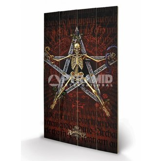 wooden image Alchemy (Alchantagram) - Pyramid Posters, ALCHEMY GOTHIC