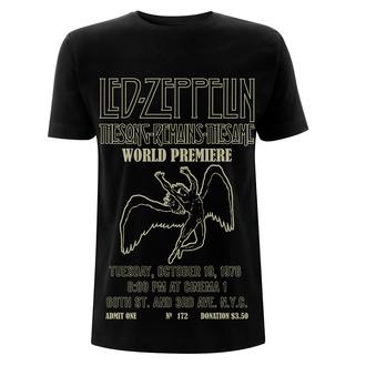 t-shirt metal men's Led Zeppelin - TSRTS World Premiere - NNM, NNM, Led Zeppelin