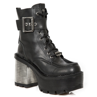 high heels women's - CRUST NEGRO, SEVENTY NEGRO - NEW ROCK, NEW ROCK