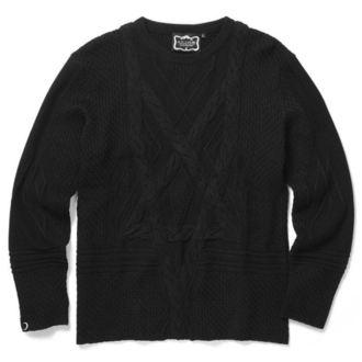 Unisex Sweater KILLSTAR - MAGUS KNIT - BLACK