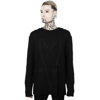 Unisex Sweater KILLSTAR - MAGUS KNIT - BLACK, KILLSTAR
