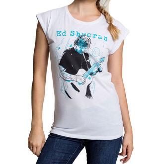 t-shirt metal women's Ed Sheeran - Guitar - URBAN CLASSICS, URBAN CLASSICS, Ed Sheeran