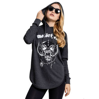 hoodie women's - FUCK OFF STENCIL LETTERS & SKELETON MIDDLE FINGER3 - TOO FAST