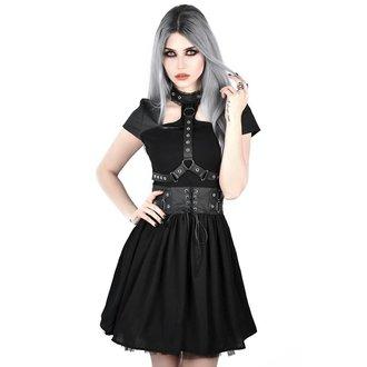 Women's dress KILLSTAR - MIDNIGHT MUSE HARNESS - BLACK, KILLSTAR