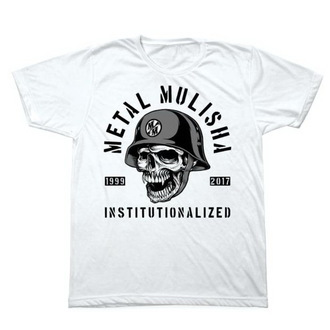 t-shirt street men's - INSTITUTIONLIZED - METAL MULISHA - M1851831.01, METAL MULISHA