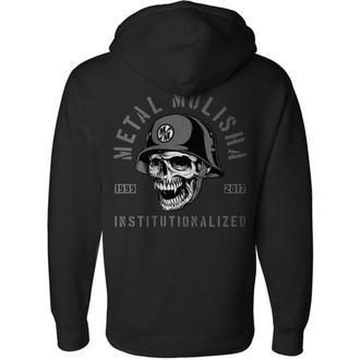 hoodie men's - INSTITUTIONALIZED - METAL MULISHA, METAL MULISHA