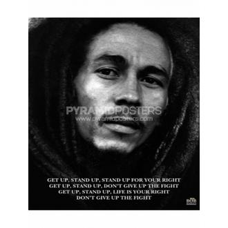 Poster - Bob Marley (Get Up, Stand Up) - MPP50072, PYRAMID POSTERS, Bob Marley