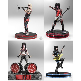 Figures (set) Mötley Crüe - Band - Rock Iconz, KNUCKLEBONZ, Mötley Crüe