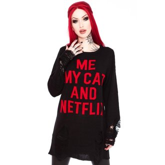 sweater unisex KILLSTAR - My Cat Distress, KILLSTAR