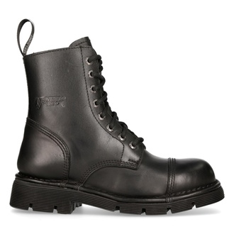 leather boots unisex - NEW ROCK - M.NEWMILI083-S1