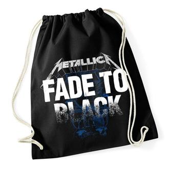 Sackpack (benched bag/ backpack)  Metallica - Fade To Black - Drawstring Black - RTMTLSBBFAD