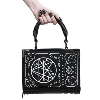 Purse (Handbag) KILLSTAR - NECRONOMICON - BLACK, KILLSTAR