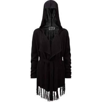 Sweather Women's (Cardigan) KILLSTAR - Nightshade - Black, KILLSTAR