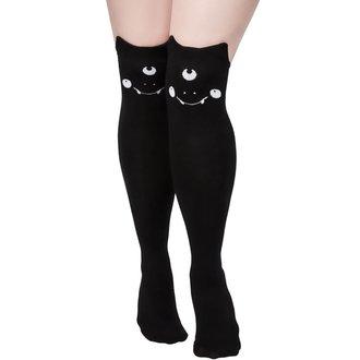 Over the knee high socks KILLSTAR - NYX LONG - BLACK, KILLSTAR