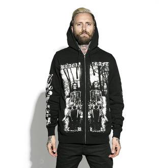 hoodie men's - Nightcrawler - BLACK CRAFT, BLACK CRAFT