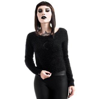sweater women's KILLSTAR - Obscura Fuzzy Knit - Black, KILLSTAR