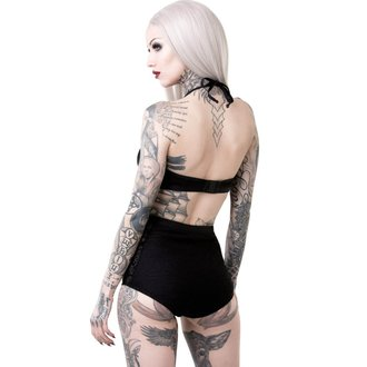 Swimsuit Women's KILLSTAR - OCCULTUS - BLACK, KILLSTAR