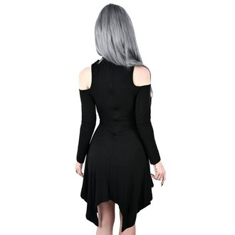 Women's dress KILLSTAR - Onyx Fall-Deep - BLACK, KILLSTAR