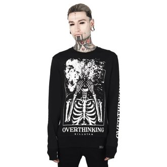 sweatshirt (no hood) unisex - OVERTHINKING - KILLSTAR, KILLSTAR