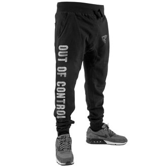 Sweatpants Men's FAMOUS STARS & STRAPS - OUT OF CONTROL - BLACK, FAMOUS STARS & STRAPS