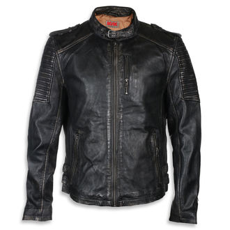 leather jacket AC-DC - Black/beige - NNM, NNM, AC-DC
