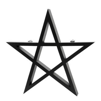 Decoration KILLSTAR - PENTAGRAM - BLACK, KILLSTAR