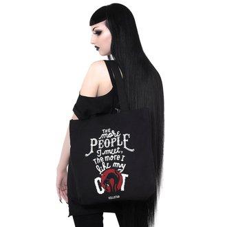 Bag (handbag) KILLSTAR - People Suck - BLACK, KILLSTAR