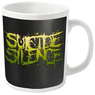 cup SUICIDE SILENCE - LOGO - PLASTIC HEAD, PLASTIC HEAD, Suicide Silence
