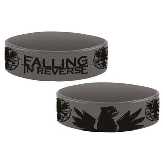 Rubber Bracelet FALLING IN REVERSE - EAGLE - PLASTIC HEAD, PLASTIC HEAD, Falling In Reverse