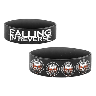 Rubber Bracelet FALLING IN REVERSE - STRAIGHT TO HELL - PLASTIC HEAD, PLASTIC HEAD, Falling In Reverse