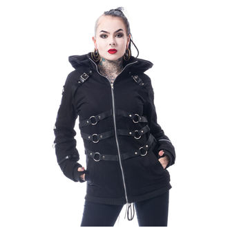 spring/fall jacket women's - VIVIEN - CHEMICAL BLACK, CHEMICAL BLACK