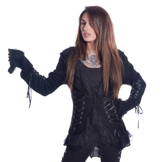 Women's sweater POIZEN INDUSTRIES - 4726 GOTHIC - BLACK, POIZEN INDUSTRIES