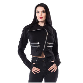 spring/fall jacket women's - MINNA - CHEMICAL BLACK, CHEMICAL BLACK