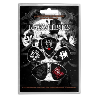 picks BLACK VEIL BRIDES - SKULL - RAZAMATAZ, RAZAMATAZ, Black Veil Brides